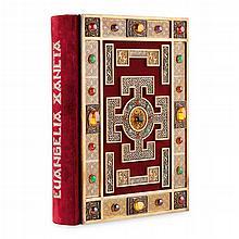 Lindisfarne Gospels, Das Buch von Lindisfarne, Evangéliare de Lindisfarne