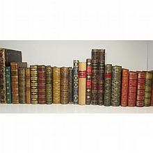 Miscellaneous bindings and other volumes, a collection including Fitzgerald, Edward
