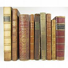 Miscellaneous bindings, 9 volumes, including Shakespeare, W.