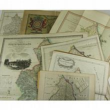 Northumberland - 7 maps, comprising: