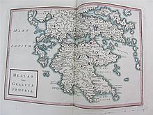 2 Geographia Antiqua map volumes including Lenglet Du Fresnoy, Pierre Nicolas, l'abbé