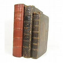 Three 17th Century works, including Raleigh, Walter