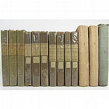 Scott, Sir Walter - 3 First editions, and 1 Second edition, in original boards