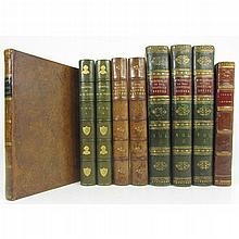 Scott, Sir Walter; a collection of 5 works in 9 volumes, comprising: