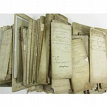 Around 270 legal documents, including Charter of confirmations, instruments of sasine,