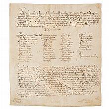 de Comminges, Roger, Lord of Saubole - Regnault de Rene - Richard Landon - Payments to a Garrison at Metz, 1586