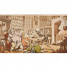 Illustrated Satire - [Combe, William] - Thomas Rowlandson, illustrator