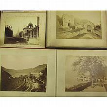 Topographical photographs, Italy, Switzerland and Great Britain