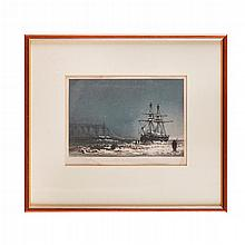 Arctic Exploration - Browne, W.H., artist & Haghe, Charles, engraver