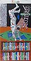 DAVID HOCKNEY (BRITISH, B. 1937) PARADE POSTER: METROPOLITAN OPERA, NEW YORK Plate size: 205cm x 103cm (80.5in x 40.5in)
