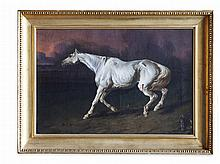 MANNER OF JAMES WARD WOUNDED HORSE
