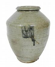 KOREAN CELADON VASE POSSIBLY 18TH CENTURY 21cm high