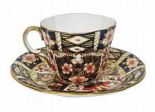 ROYAL CROWN DERBY PART TEA SERVICE