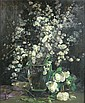 WILLIAM S ANDERSON (BRITISH FL. 1917-1930) SLOE BLOSSOM 60cm x 50cm (23.5in x 19.75in)