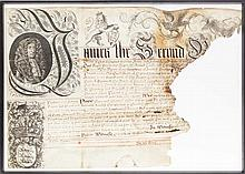Battle of the Boyne interest - Richard Talbot, 1st Earl of Tyrconnell letters patent
