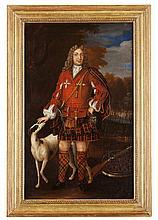 CIRCLE OF RICHARD WAITT (SCOTTISH 1708-1733) JACOBITE PORTRAIT 59cm x 36cm (23in x 14in)