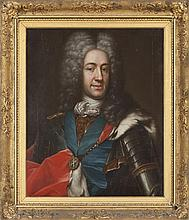 ATTRIBUTED TO E. GILL, AFTER MARTIN VAN MEYTENS (DUTCH/SWEDISH 1695-1770) A PORTRAIT OF JAMES FRANCIS EDWARD STUART, THE OLD PRETEND...