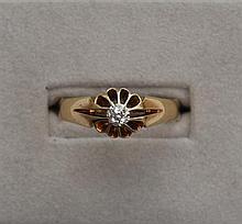 A gentleman's diamond set ring Ring size: X
