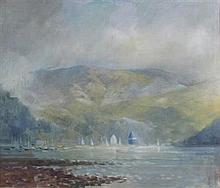 § ERNEST BURNETT HOOD (SCOTTISH 1932-1988) KERRY KYLE 48.75in x 59cm (19.5in x 23.25in)