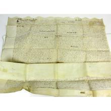 Elizabethan indenture
