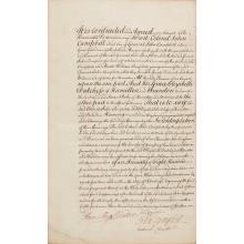 Documents Relating to the Marriage of Elizabeth, Dowager Duchess of Hamilton and Brandon with Colonel John Campbell