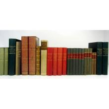 French literature, a collection of 33 volumes, including La Harpe, J.f.