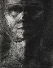 § FIONA ROBERTSON (BRITISH CONTEMPORARY) HEAD 11 - 1997/8 46cm x 35cm (18in x 13.75in)