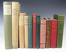 A small quantity of hunting books, including 'Sabretache' [Barrow, Albert Stewart]