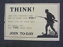 World War 1 Recruitment Poster - Harry Oakley