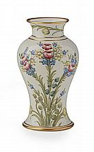 WILLIAM MOORCROFT (1872-1945) FOR JAMES MACINTYRE CO. LTD. BALUSTER VASE, CIRCA 1910 19.5cm high
