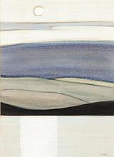 § BET LOW (SCOTTISH 1924-2007) CLOUDBANK II 35cm x 25cm (13.75in x 9.75in)