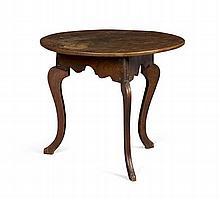 PROVINCIAL ELM TABLE 19TH CENTURY 78cm wide, 67cm high, 75cm deep
