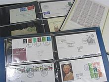 A large accumulation of stamps in various boxes