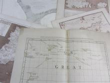Collection of maps, including Green, John