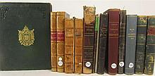 German and French scientific works including Riess, P.T.