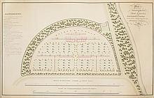 Hay, John, (1758-1836, horticulturalist & garden designer) - Balnagown Castle - watercolour and manuscript plan
