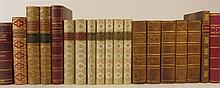 Bindings, a collection of 19 volumes, including Mawe, Thomas
