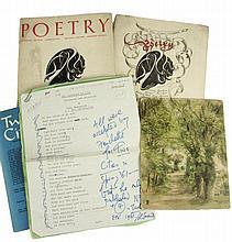 Gawsworth, John - Nina Hamnett (British, 1890-1956) - illustrations, manuscripts & typescripts