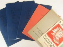 Private press - poetry - Kathleen Raine, Peter Redgrove, Roy Fuller, Ted Hughes