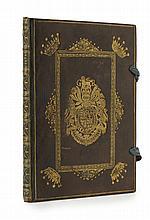 Heraldic Manuscript - Statutes of the most Noble Order of the Garter
