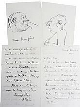 Collection of autograph letters, mostly by 20th century poets and other writers, comprising letters by: