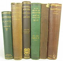 Science, 6 volumes, including Darwin, Charles