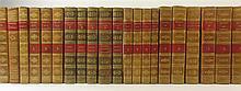 French Bindings, 29 volumes, including Montesquieu, C. de S.