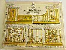 Cast iron pattern books, a collection of 12 volumes, including Carron Company