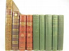 Scottish history, a collection of 9 volumes including Douglas, Sir Robert