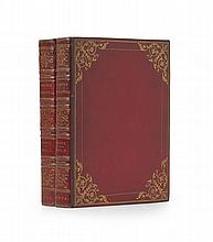 Red morocco rococo binding - Scott, Walter