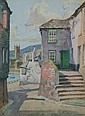 JAMES HESELDIN (FL.1914-1930) FISH STREET, ST IVES 21cm x 15cm and a companion, a pair (2)