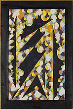 § WILLIAM GEAR R.A., F.R.S.A. (SCOTTISH 1915-1997) GARDEN GATE 81cm x 51cm (32in x 20in)
