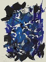 § WILLIAM GEAR R.A., F.R.S.A. (SCOTTISH 1915-1997) UNTITLED 1959 66cm x 46cm (26in x 18in)