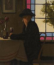 § JACK VETTRIANO (SCOTTISH B.1951) THE FLIRTATIOUS WOMAN 61cm x 51cm (24in x 20in)